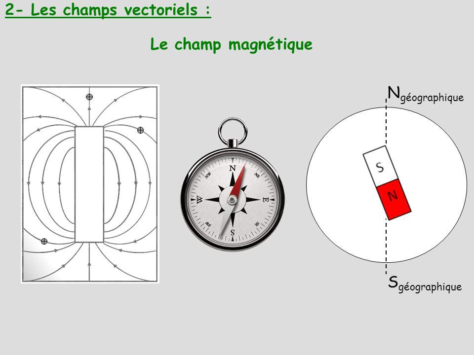 2- Les champs vectoriels :
