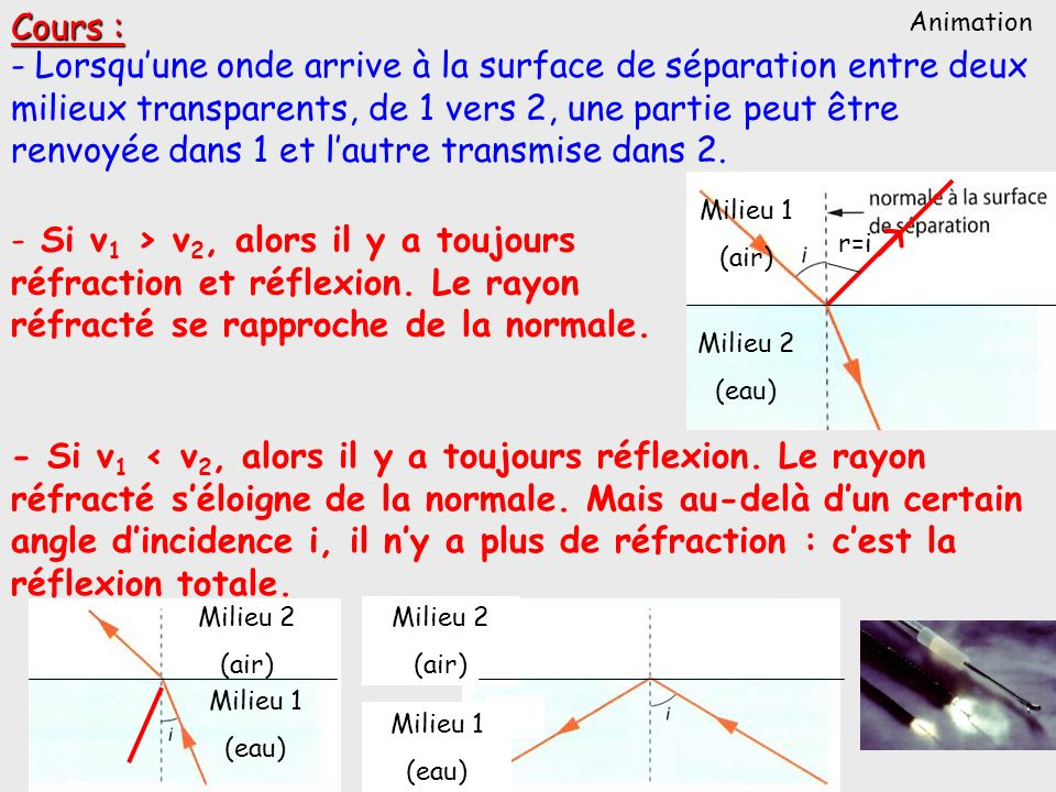 Cours : Animation.