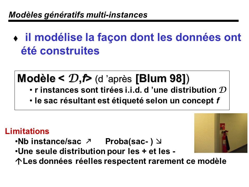 Modèles génératifs multi-instances