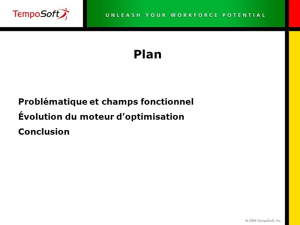 Plan Problématique et champs fonctionnel