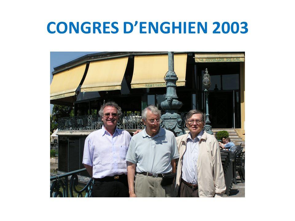 CONGRES D'ENGHIEN 2003