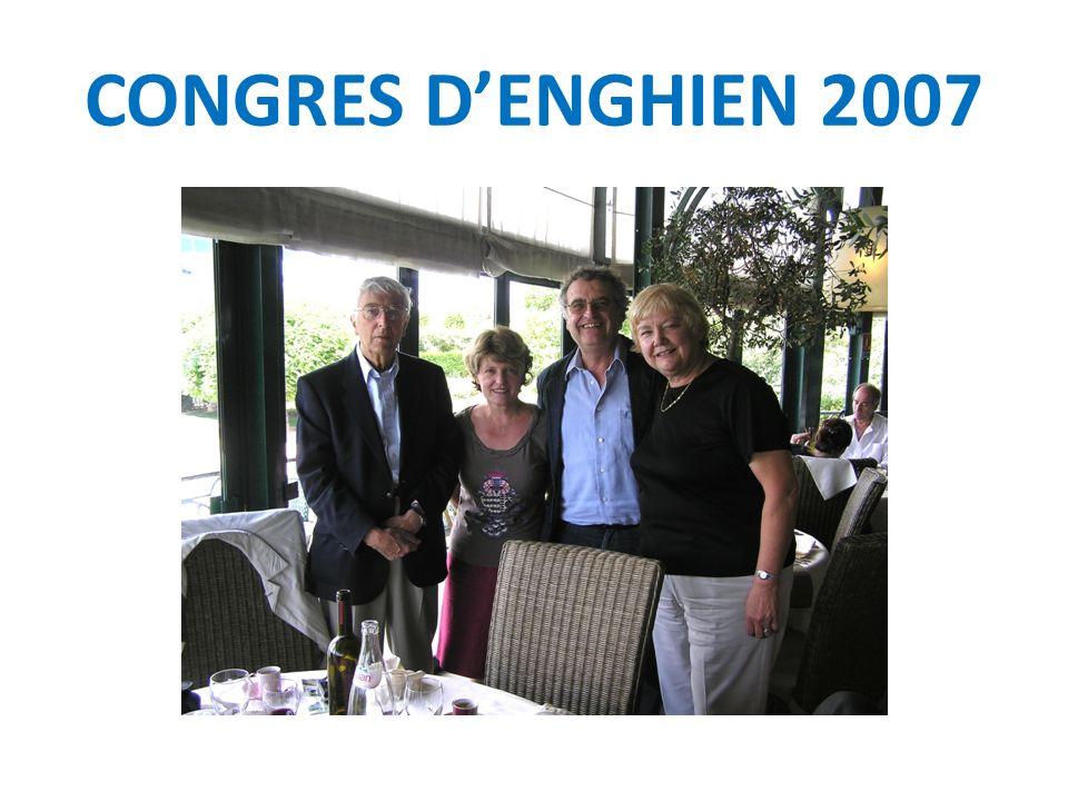 CONGRES D'ENGHIEN 2007