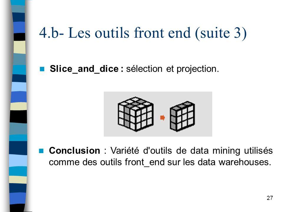 4.b- Les outils front end (suite 3)