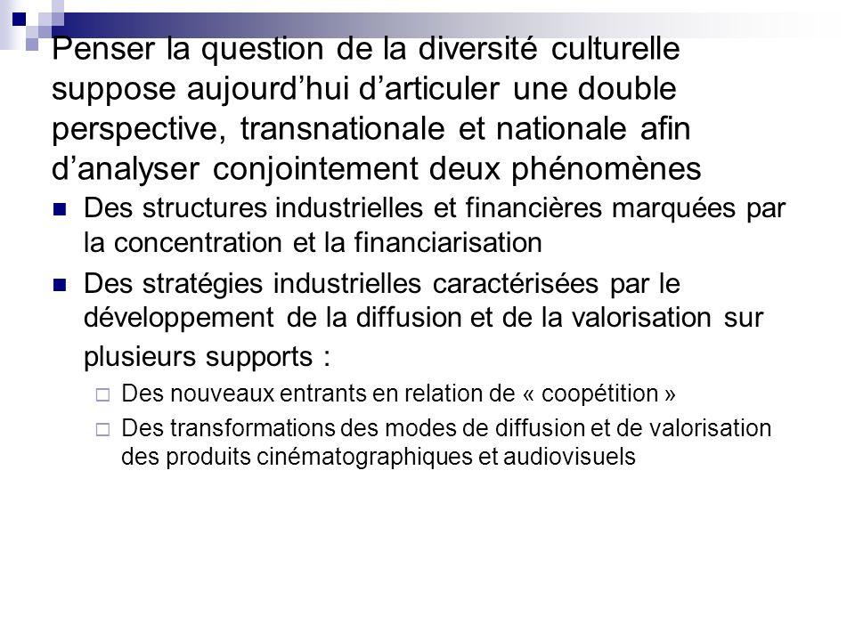Penser la question de la diversité culturelle suppose aujourd'hui d'articuler une double perspective, transnationale et nationale afin d'analyser conjointement deux phénomènes