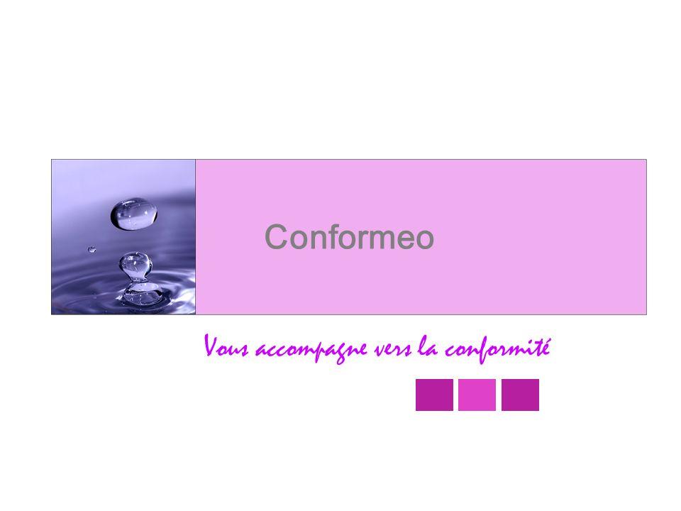 Vous accompagne vers la conformité