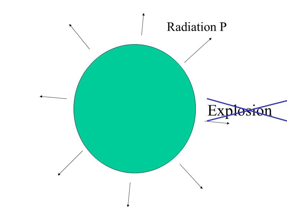 Radiation P Explosion