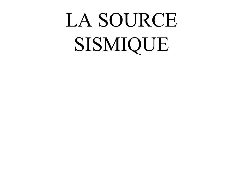 LA SOURCE SISMIQUE