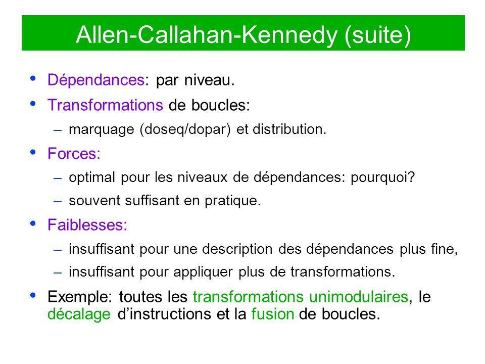 Allen-Callahan-Kennedy (suite)