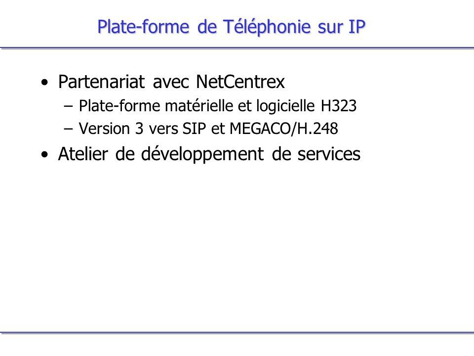 Plate-forme de Téléphonie sur IP