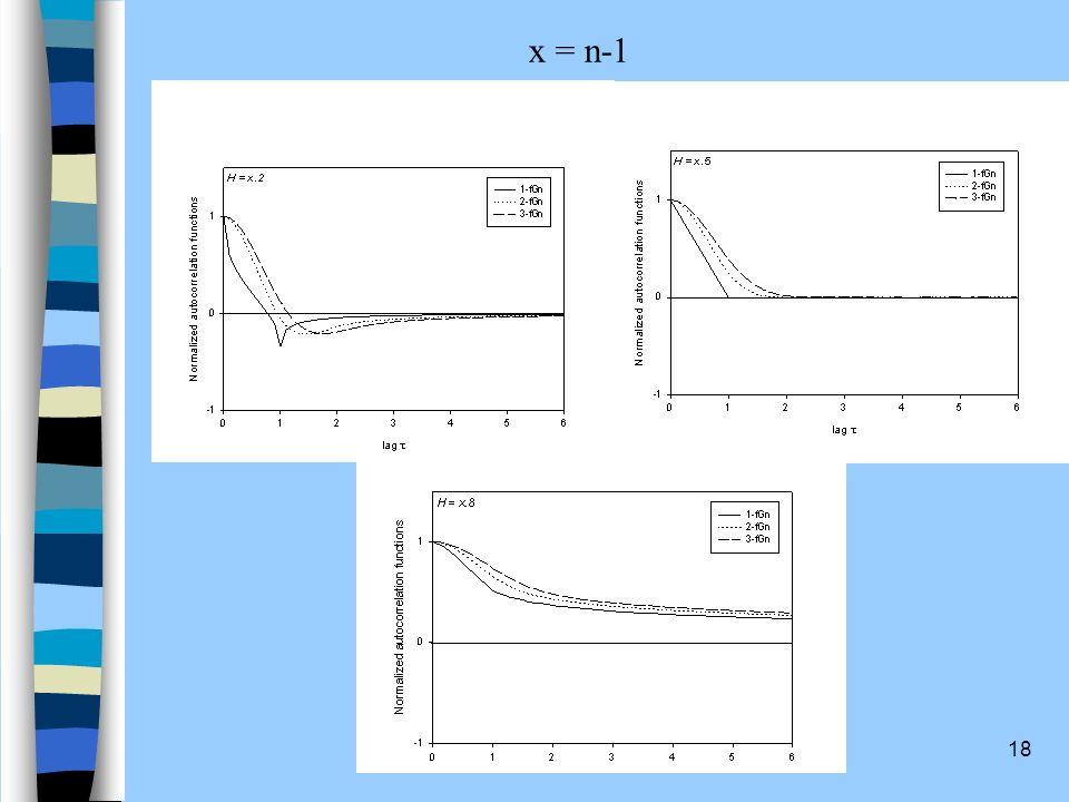 x = n-1
