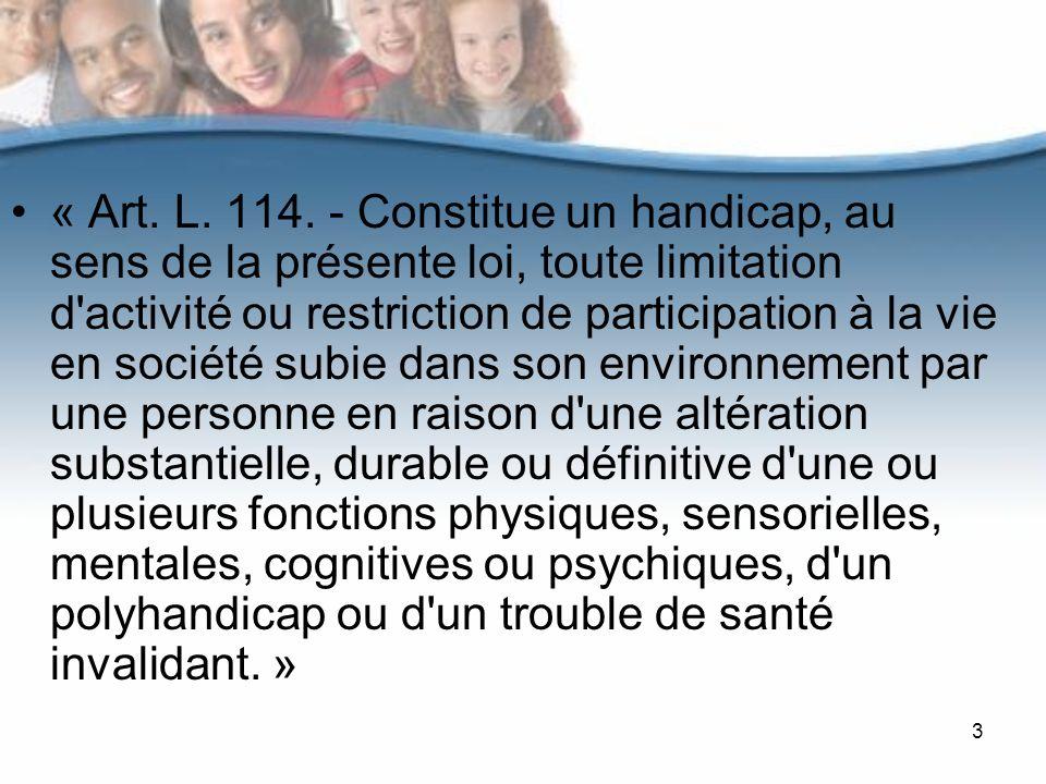 « Art. L. 114.