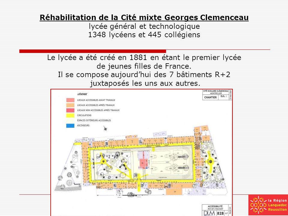 Réhabilitation de la Cité mixte Georges Clemenceau