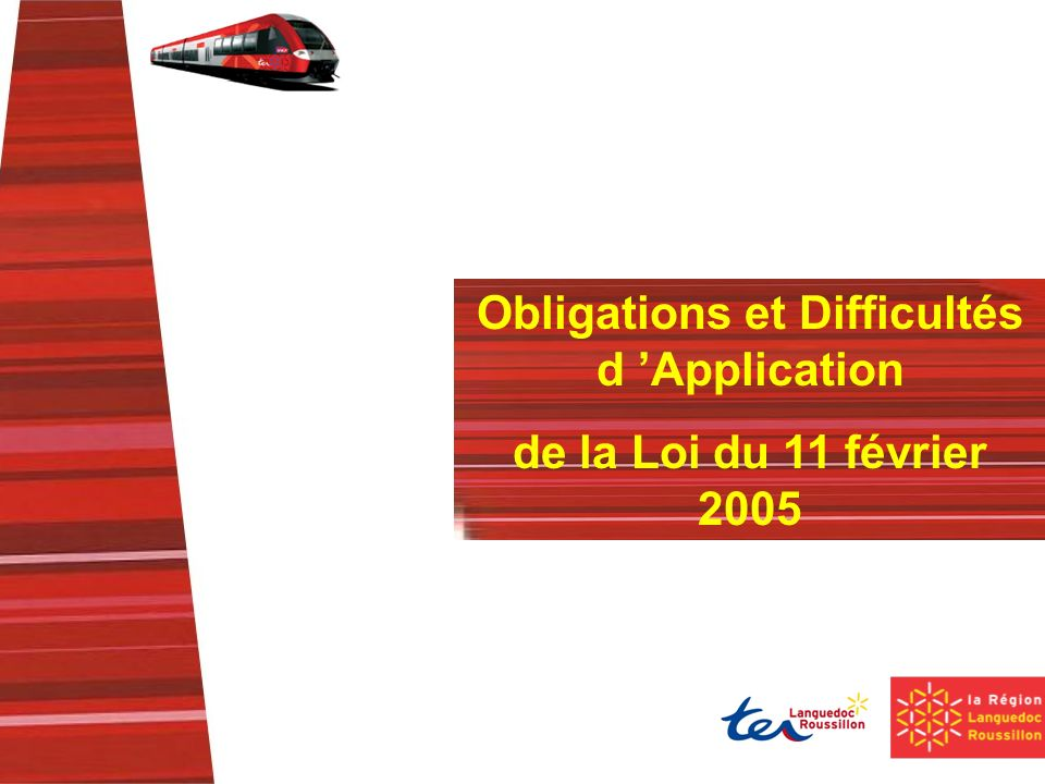 Obligations et Difficultés d 'Application