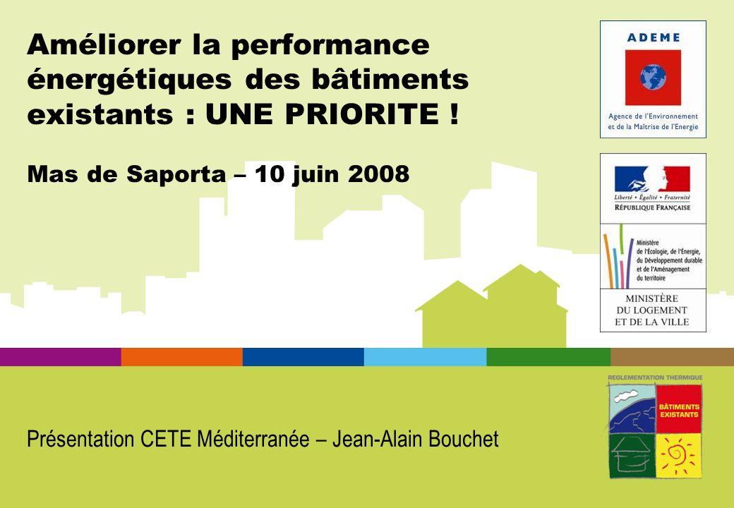 Présentation CETE Méditerranée – Jean-Alain Bouchet
