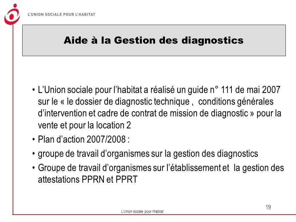 Aide à la Gestion des diagnostics