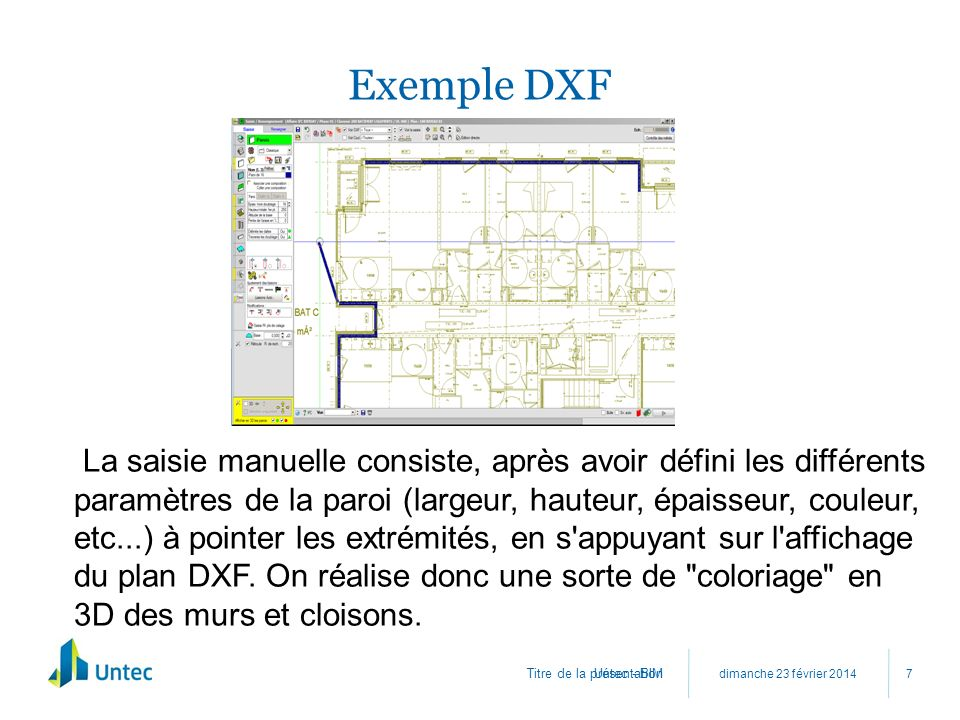 Exemple DXF