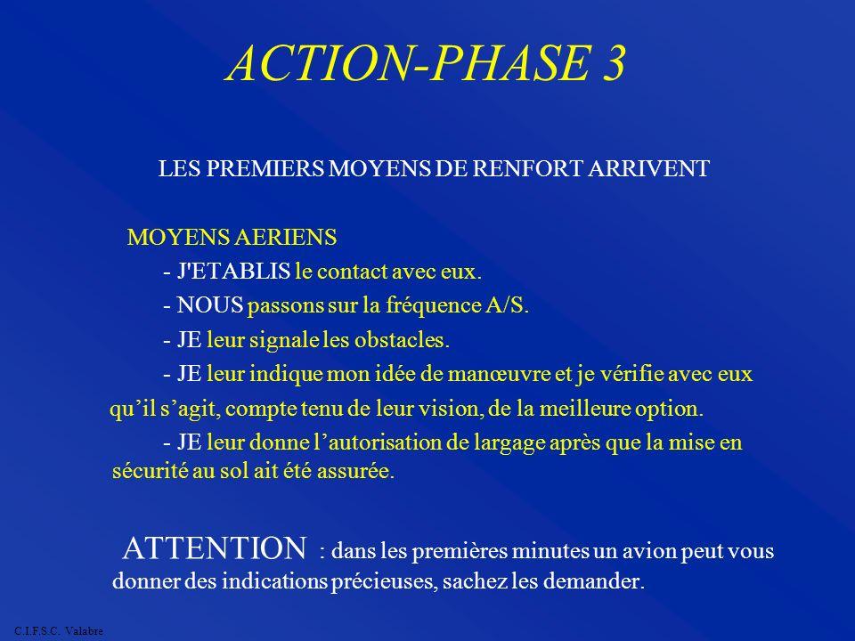 LES PREMIERS MOYENS DE RENFORT ARRIVENT