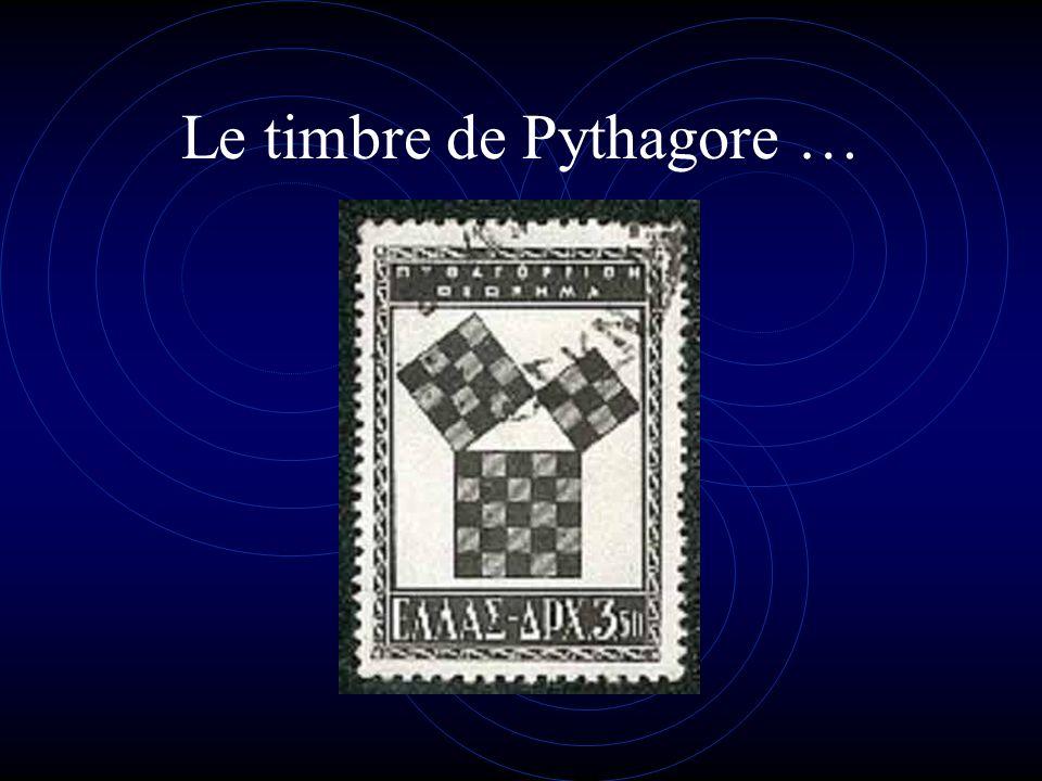 Le timbre de Pythagore …