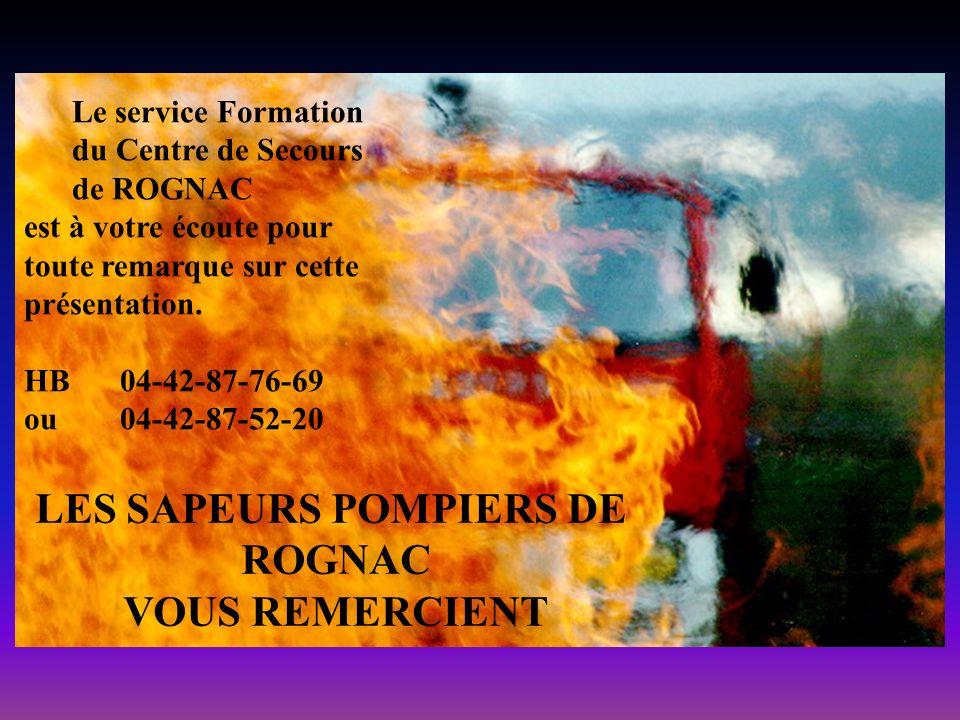 LES SAPEURS POMPIERS DE
