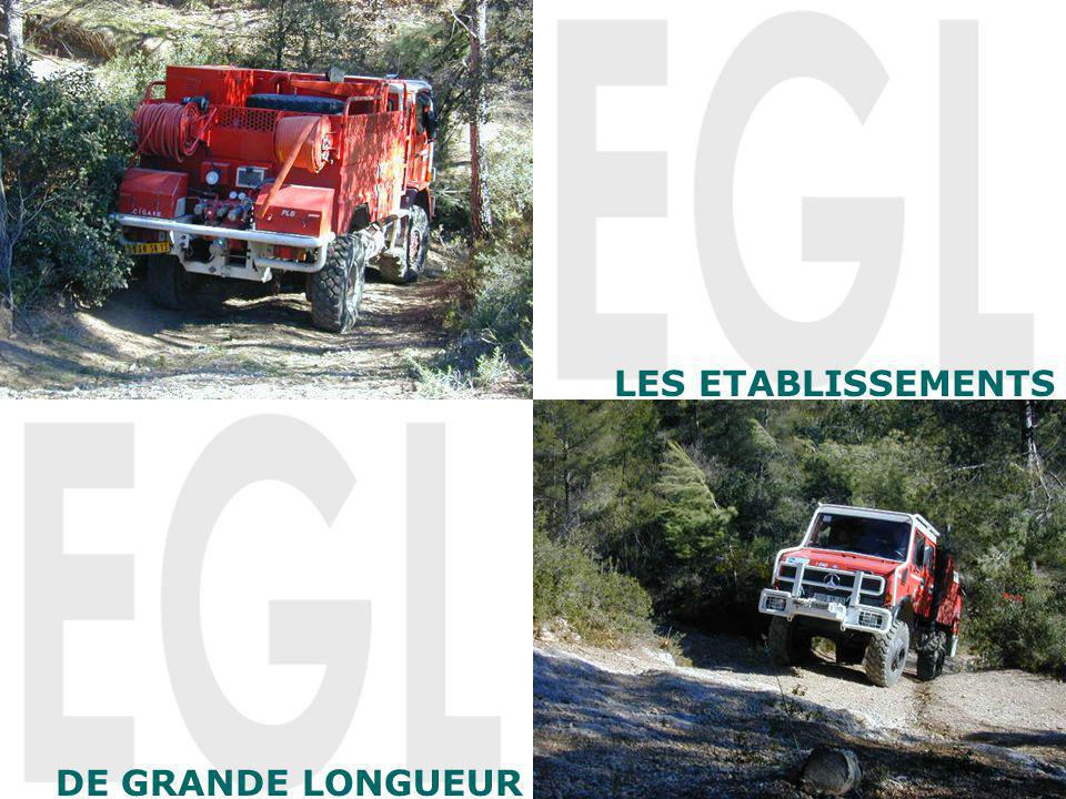 LES ETABLISSEMENTS DE GRANDE LONGUEUR