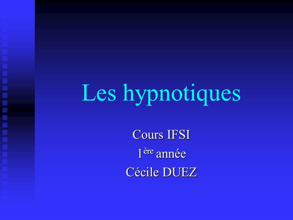 Cours IFSI 1ère année Cécile DUEZ