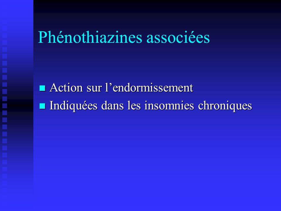 Phénothiazines associées