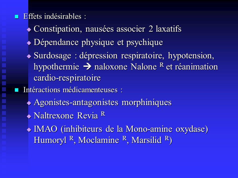 Constipation, nausées associer 2 laxatifs