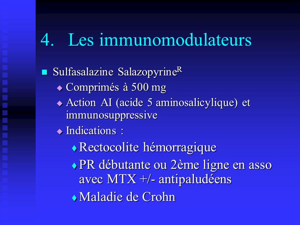 Les immunomodulateurs