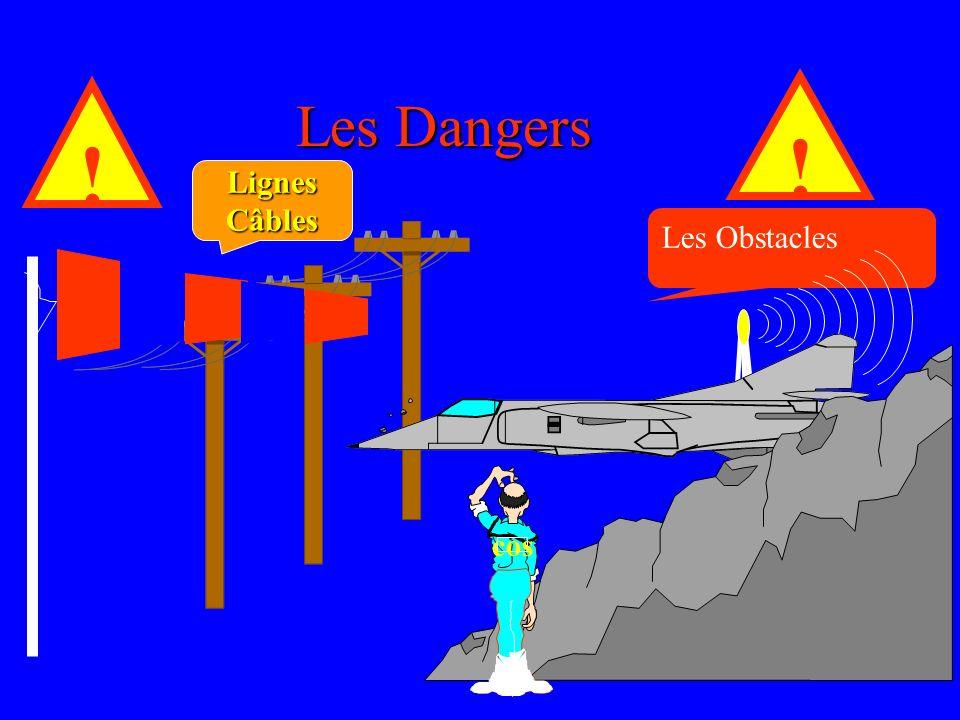 Les Dangers ! ! Lignes Câbles Les Obstacles cos