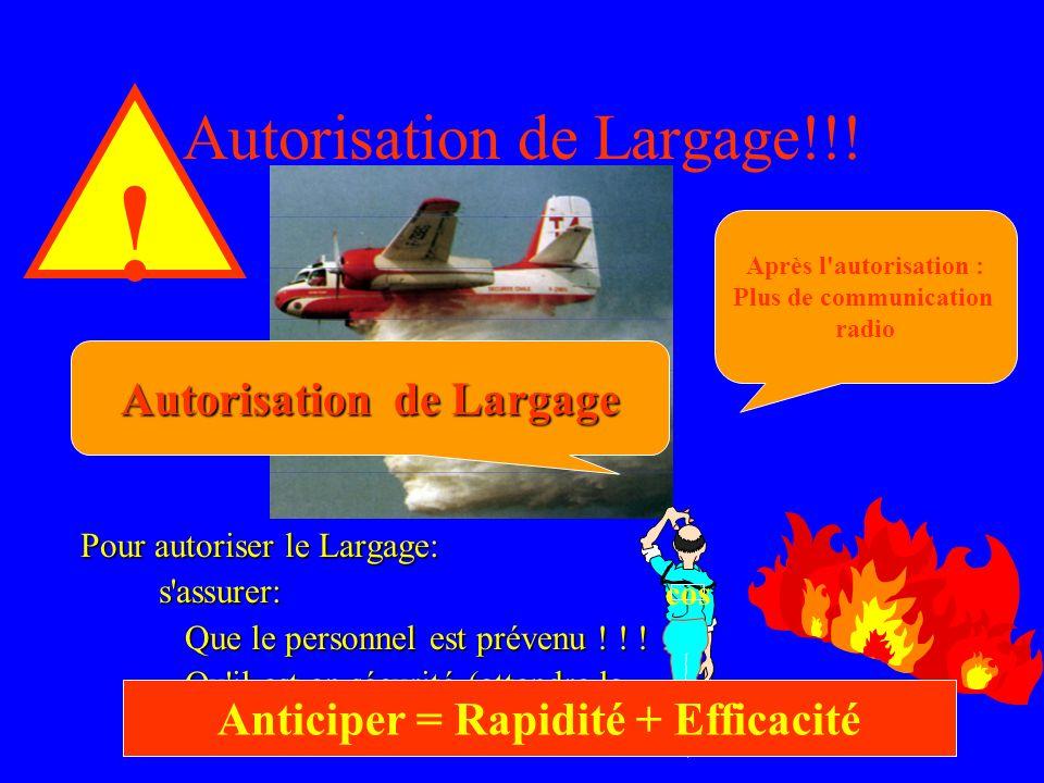 Autorisation de Largage!!!