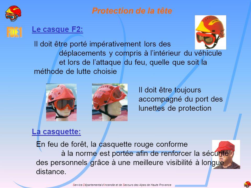Protection de la tête Le casque F2:
