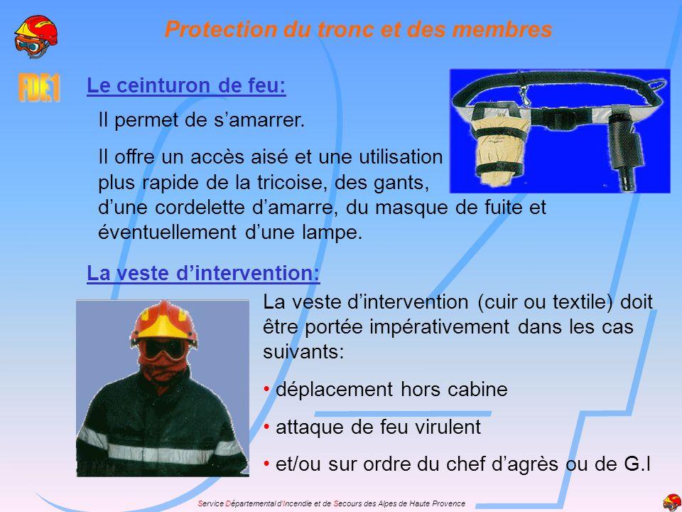 Protection du tronc et des membres