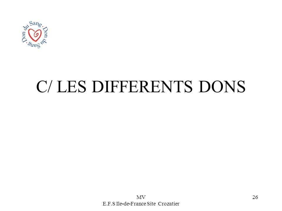 MV E.F.S Ile-de-France Site Crozatier