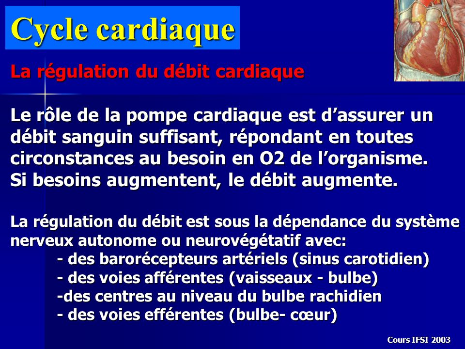 Cycle cardiaque