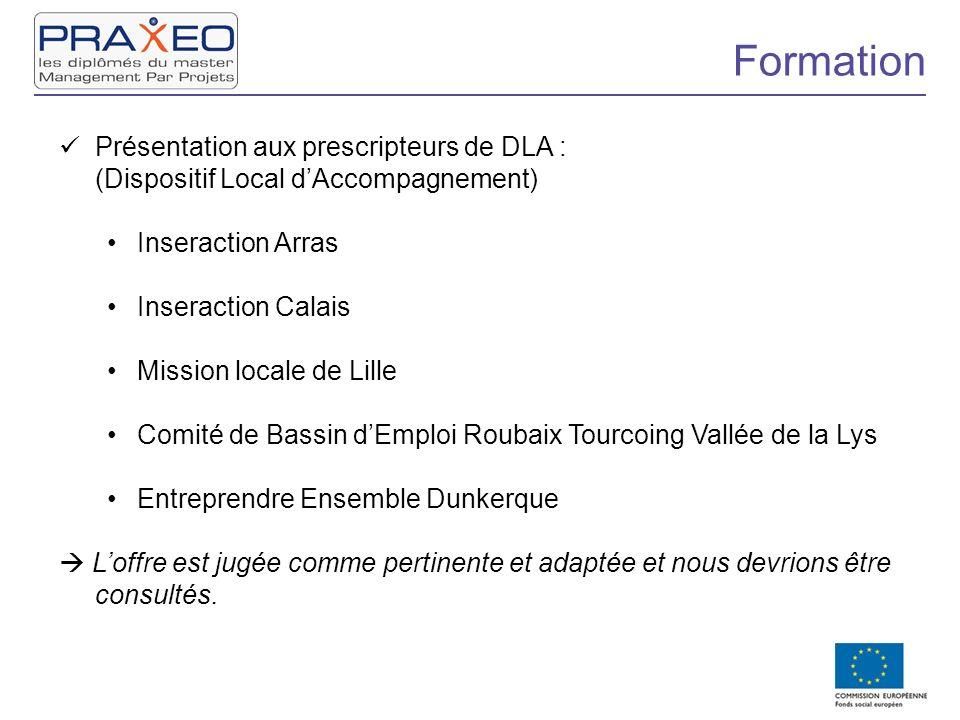 Formation Présentation aux prescripteurs de DLA :