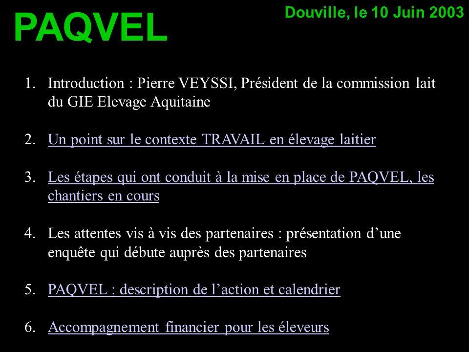 PAQVEL Douville, le 10 Juin 2003
