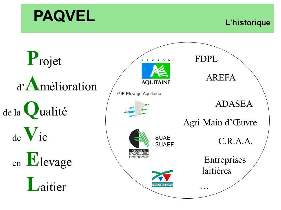PAQVEL Projet d'Amélioration FDPL de la Qualité AREFA de Vie ADASEA