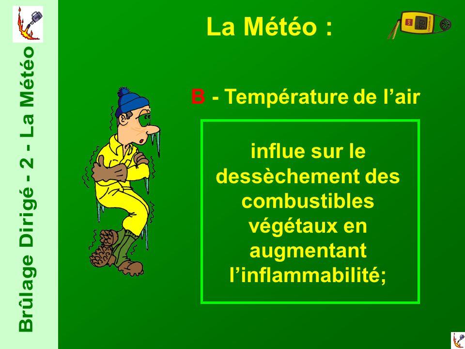 Brûlage Dirigé - 2 - La Météo