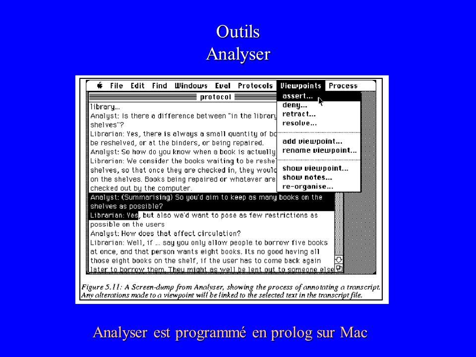 Analyser est programmé en prolog sur Mac