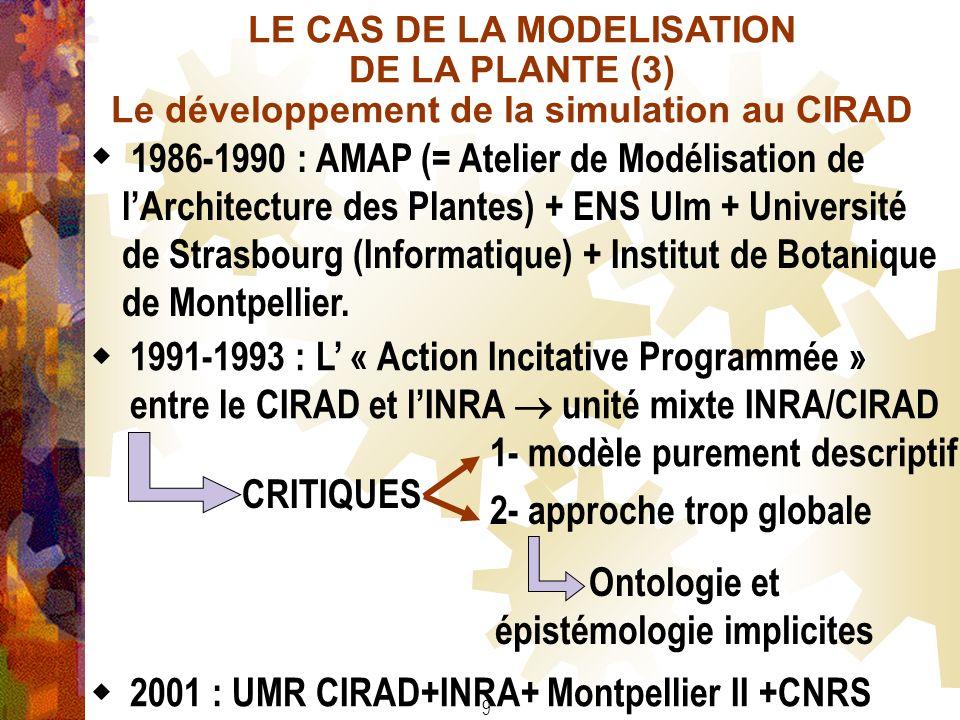 Ontologie et épistémologie implicites