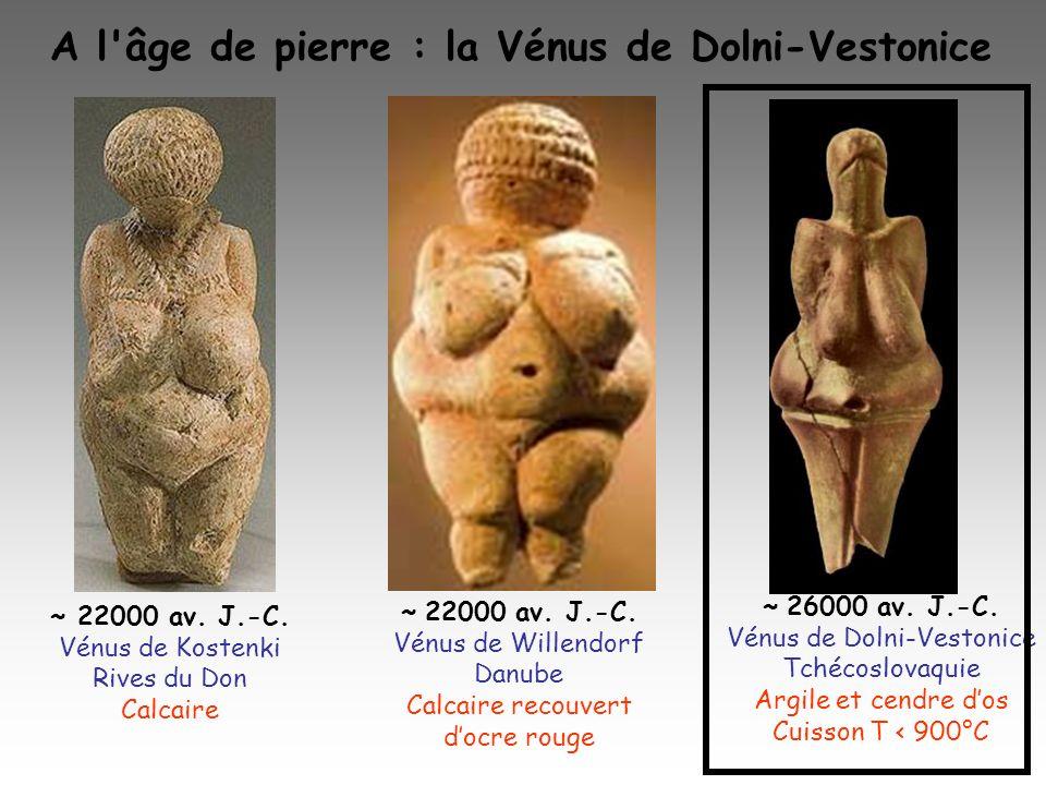 A l âge de pierre : la Vénus de Dolni-Vestonice