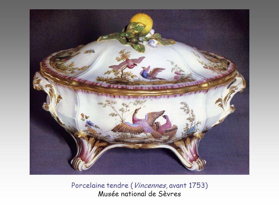 Porcelaine tendre (Vincennes, avant 1753) Musée national de Sèvres