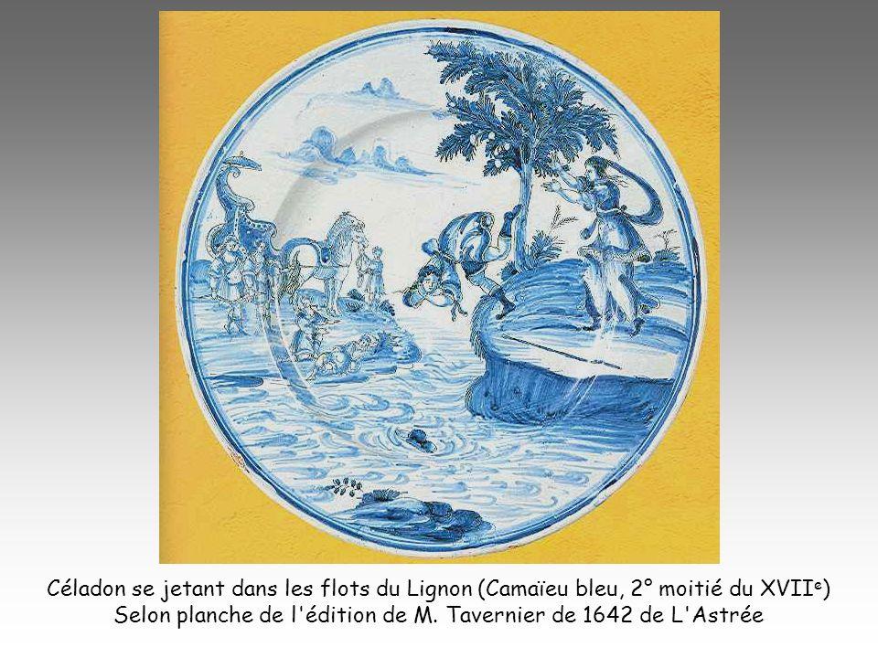 Selon planche de l édition de M. Tavernier de 1642 de L Astrée