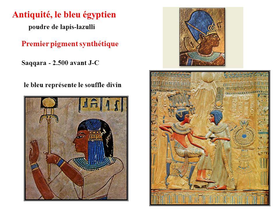 Antiquité, le bleu égyptien