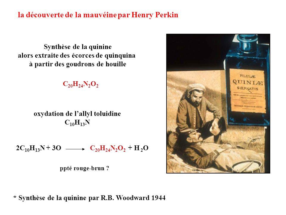 la découverte de la mauvéine par Henry Perkin