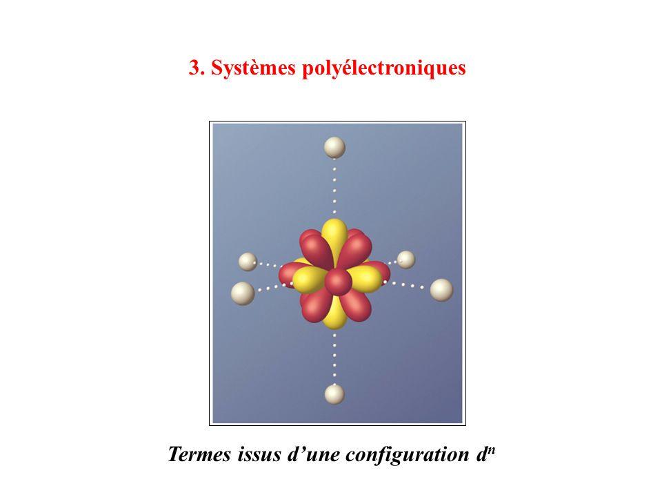 3. Systèmes polyélectroniques