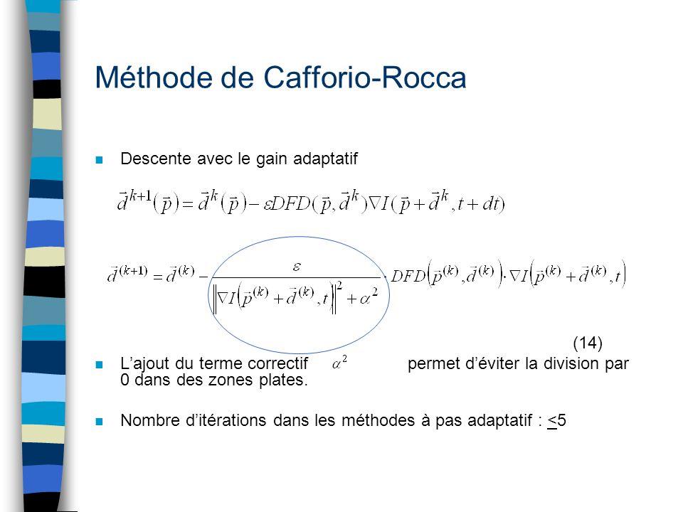 Méthode de Cafforio-Rocca