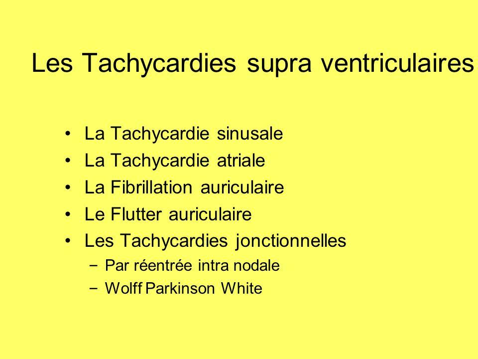 Les Tachycardies supra ventriculaires