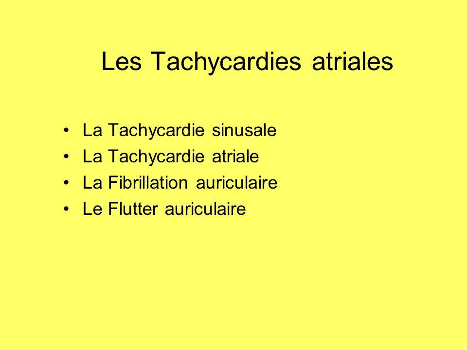 Les Tachycardies atriales