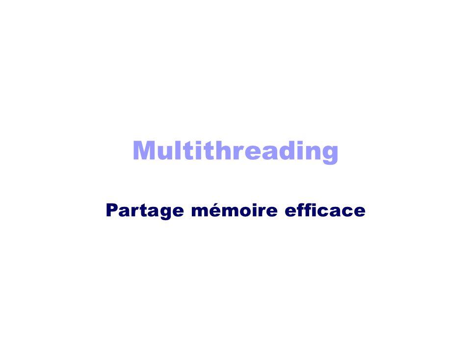 Partage mémoire efficace